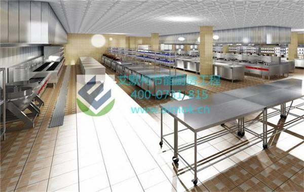 工厂厨房设计效果图