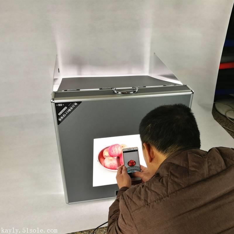 南冠T4730 LED攝影棚攝影箱拍照燈柔光箱套裝淘寶拍攝棚套裝