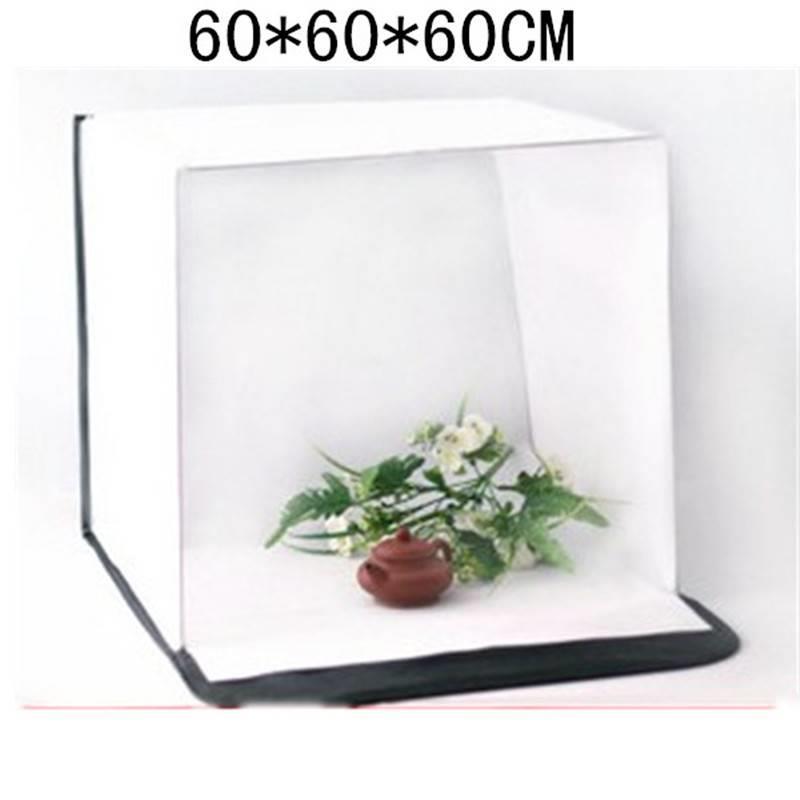 優質方形攝影棚60cm柔光棚專業攝影棚可折疊便攜攝影器材一件代發