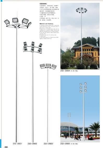 桂林高桿燈 梧州高桿燈廠家 玉林升降式高桿燈