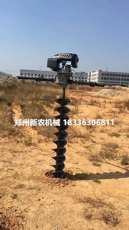 栽7米8米通信杆钻坑机,10米12米电线杆挖坑机