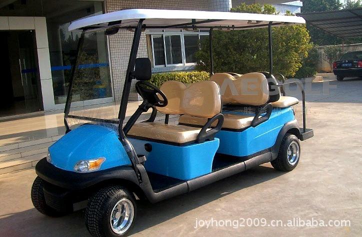 厂家直销电动高尔夫车 观光车租赁