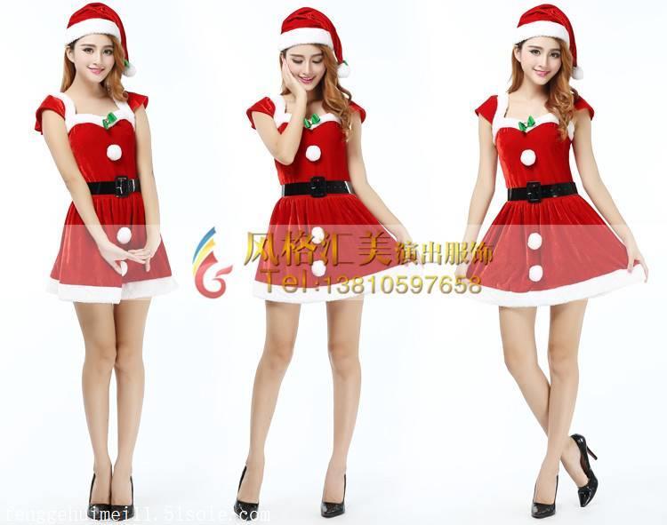 风格汇美圣诞节演出服装定制设计厂家