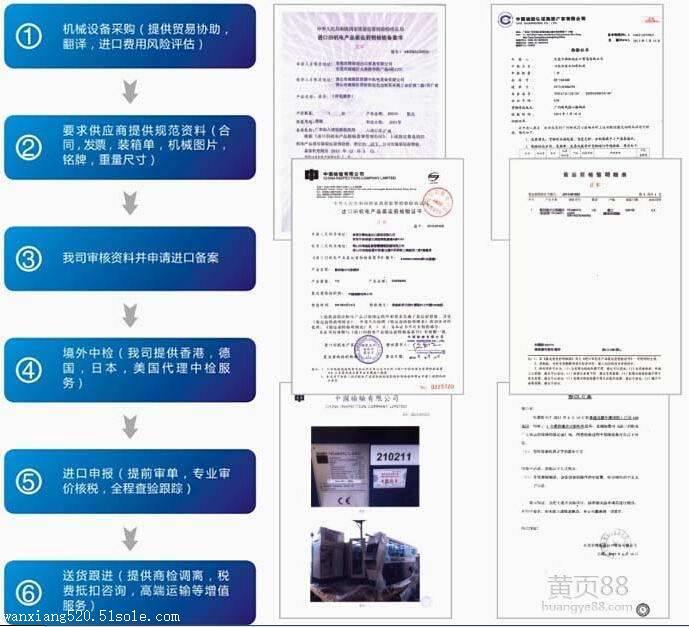 旧设备自动进口许可证的办理