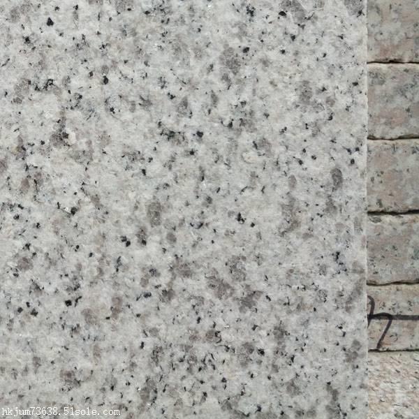 直销白色花岗岩 山东白麻石材