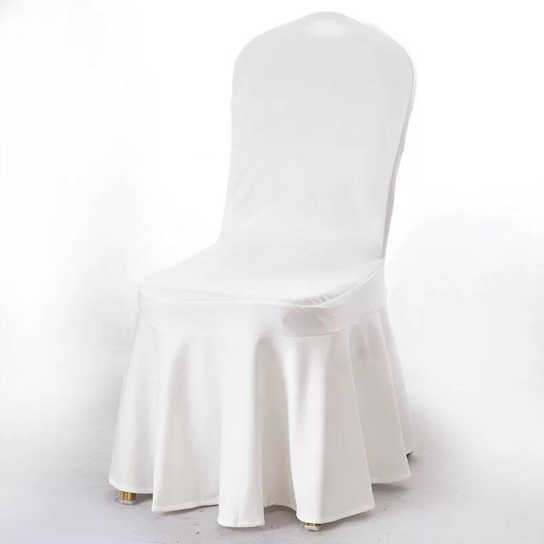 鴻鼎 廠家定做歐式酒店彈力椅套高檔餐廳婚慶宴會連體
