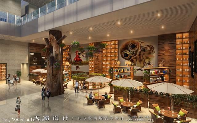 超前性长春美食广场设计更有利于塑造项目形象魅力