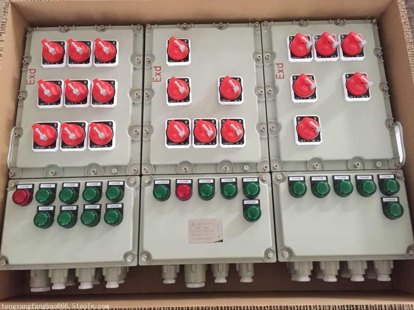 BXMD53-T印染厂防爆照明配电箱