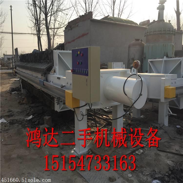 大量回收二手压滤机,二手隔膜压滤机,程控隔膜压滤机