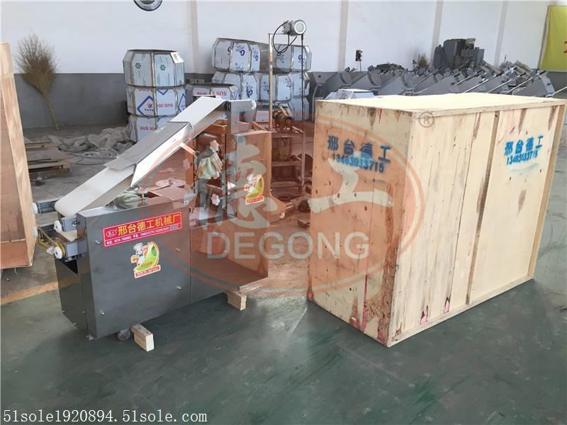 普洱双片大型商用饺子皮机厂家德工鼎力推荐