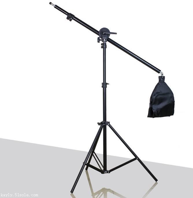 攝影棚補光頂燈架加強型鋁合金頂架燈橫臂燈架 -攝影器材廠家直銷