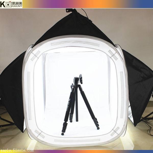 1.2米大型專業攝影棚柔光箱攝影套裝-可折疊柔光圓棚-廠家直銷