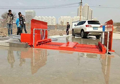 桂林工地洗车机创意洗车