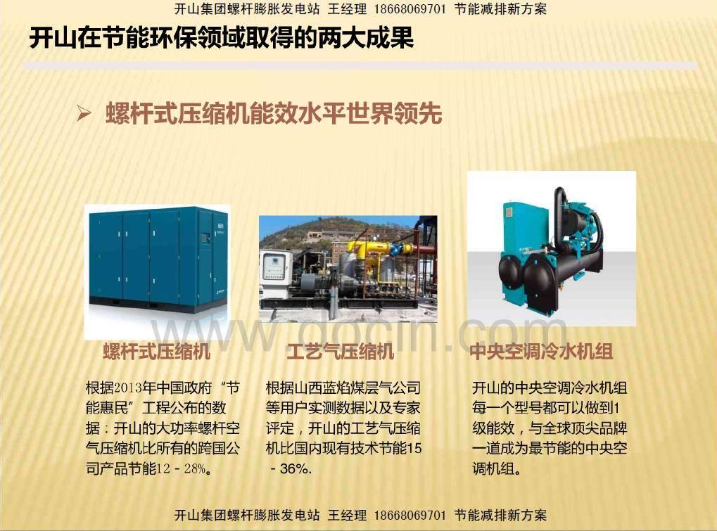 螺桿膨脹發電機(地熱光熱中低溫低品質工廠余熱回收發電當年回本