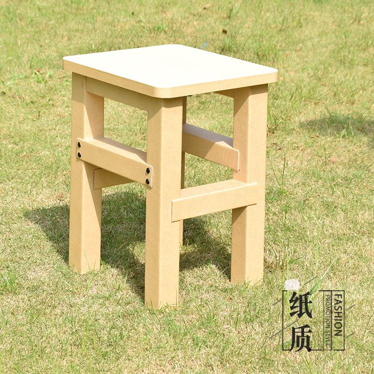 幼兒園創意紙家具兒童凳成人凳書桌凳板凳幼兒園配套桌椅