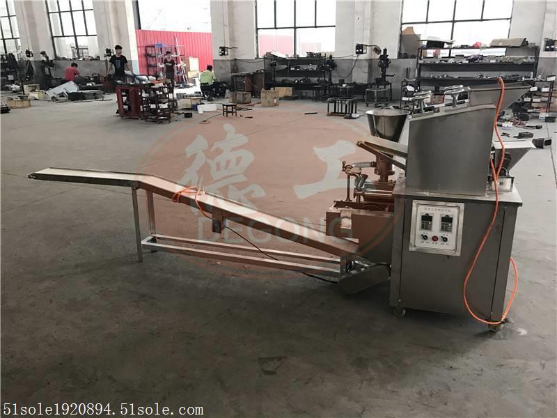 福州商用高配置仿手工饺子机生产过程