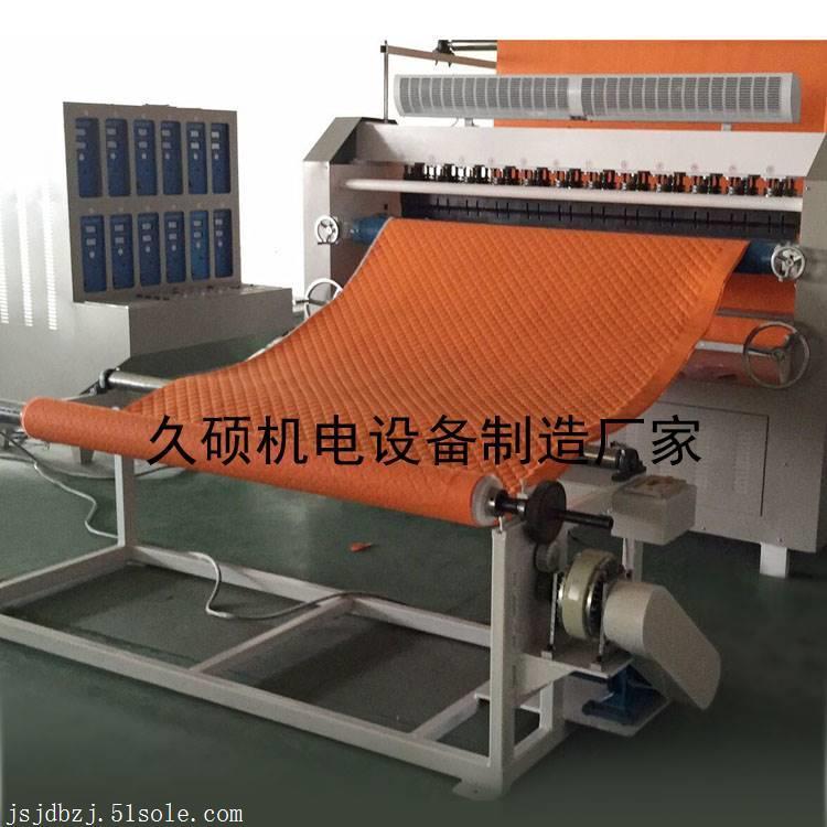 多层服装面料复合压花机 超声波无线复合机 超声波布料压花机厂家