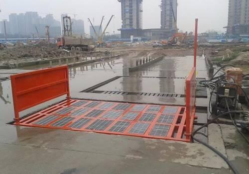 桂林工地洗车机本年度升级版