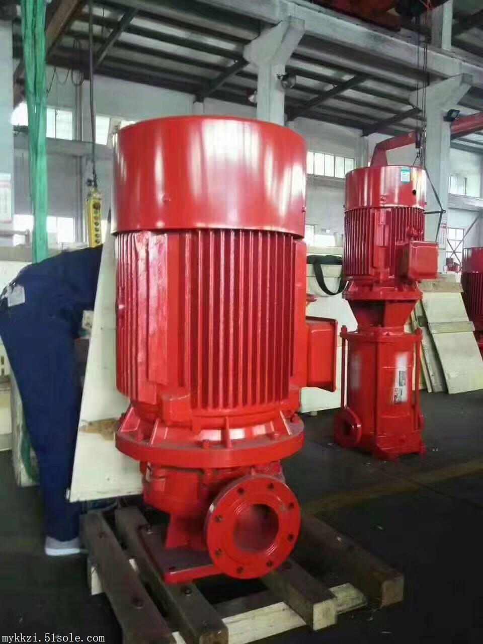 消防泵厂家立式单级消防泵 喷淋泵