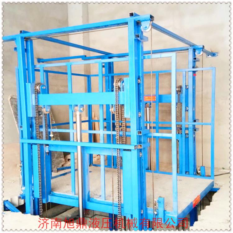 厂家直销可定制液压货梯,10米导轨升降机