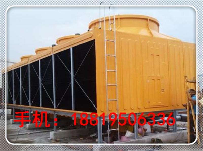 百欣500吨T方形冷却塔横流式冷却水塔