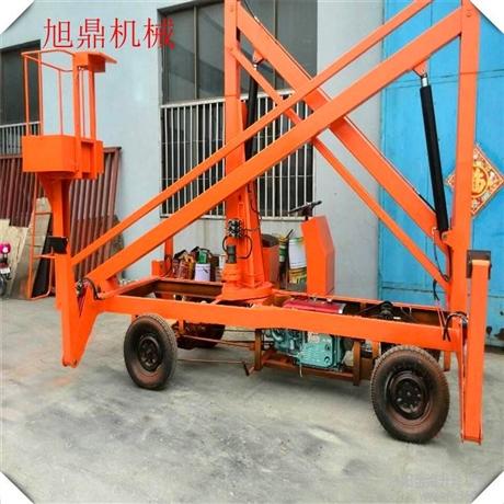 厂家直销曲臂式升降机 路灯维修车 园林绿化作业车