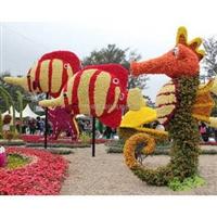 园林仿真动物海马仿真雕塑供应价格仿真绿雕野生大型