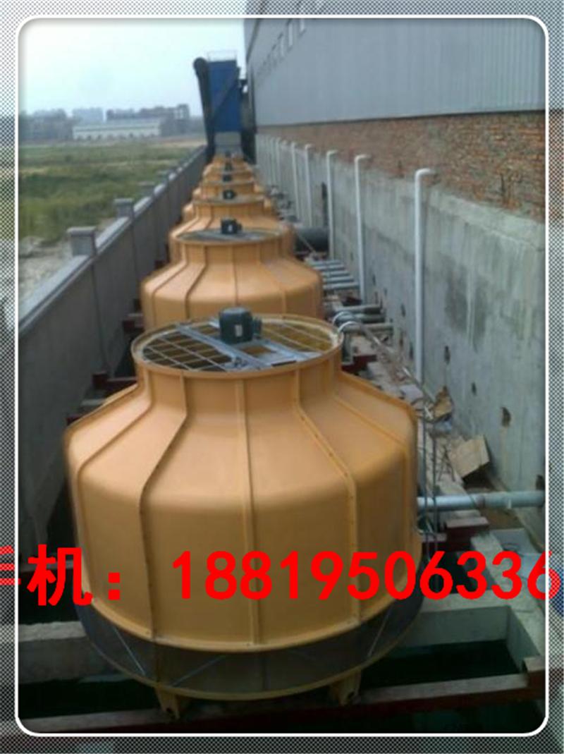 珠海100吨冷却塔圆形125T工业冷却塔