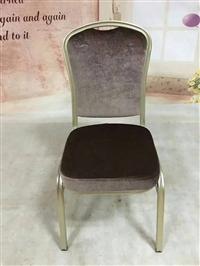 专用供应酒店家具 金属软包椅 简约现代 餐椅 酒店椅子套