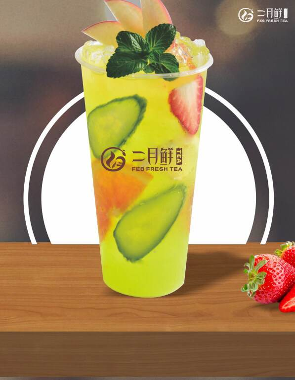 二月鲜水果茶的制作工艺