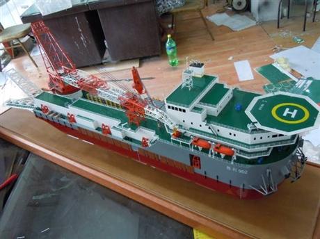 镇江航海模型,江阴船舶模型,无锡石油平台模型制作公司