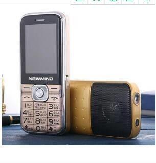 2.4寸钢化屏大喇叭QQ微信魔音语音王 魔音手机 整点报时时尚手机