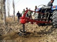 加厚加固型拖拉机带式植树挖坑机优惠价