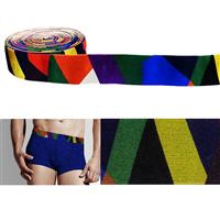 内衣裤辅料织带印花弹力尼龙带
