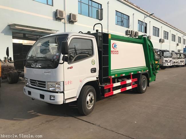 程力威牌CLW5070ZYST5压缩式垃圾车厂家
