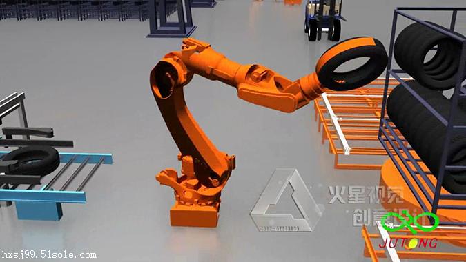 机械模拟演示动画 常州火星视觉设计