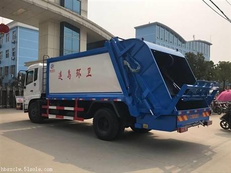 天锦压缩式垃圾车厂家现车供应,欢迎选购