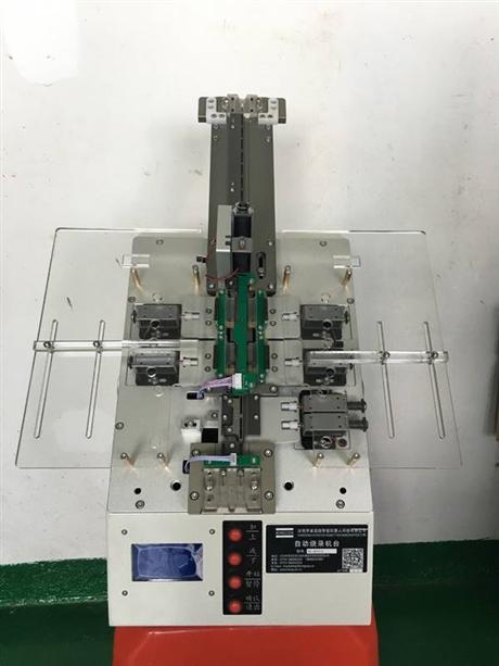 自动化烧录机自动化IC烧录一进二出管庄烧录机单管烧录机
