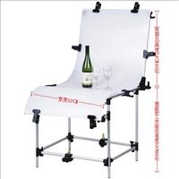 特價60*130靜物拍攝台PP材質純白背景攝影台影棚攝影器材廠家直銷