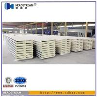 聚氨酯彩钢板 冠州聚氨酯夹芯板供应