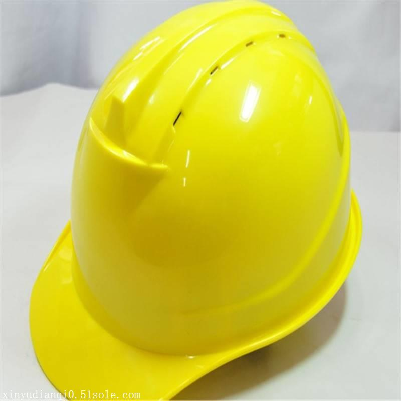 玻璃钢安全帽工地施工领导安全头盔夏季透气建筑工程劳保