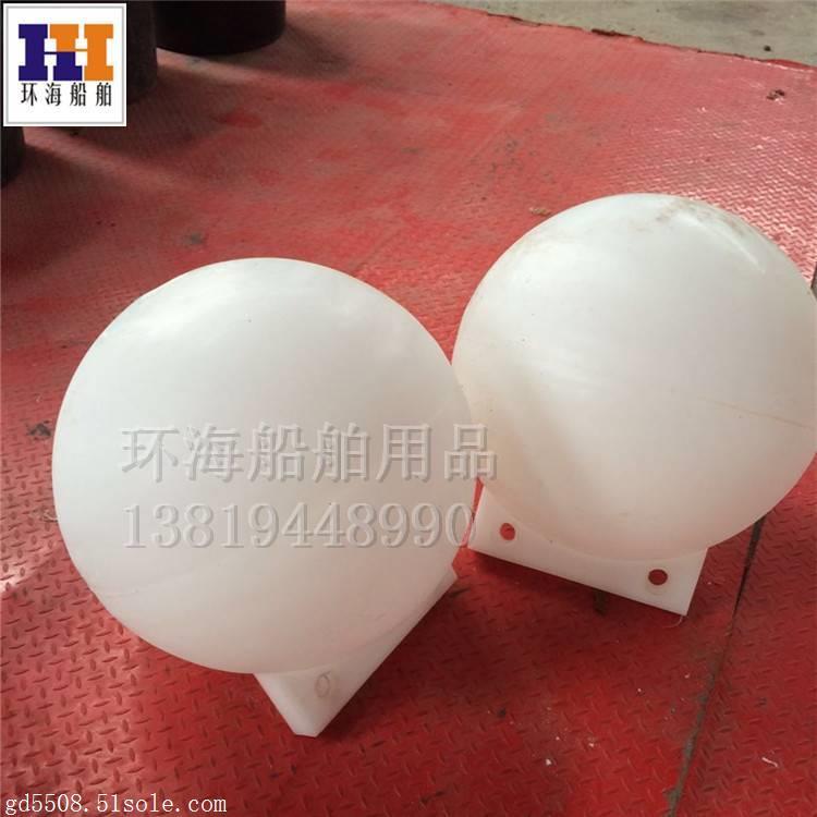 上海水面拦截塑料浮体 直径30公分警示浮球