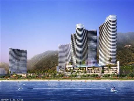 中泰天境花园一线精装修海景房 酒店托管反租 开发商直售