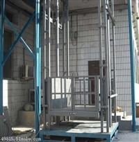3吨货物升降作业平台|山东导轨式液压升降机|仓库厂房货物提升机