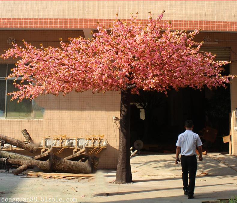 雅菲仿真樱花树批发 厂家直销 造型尺寸可定制