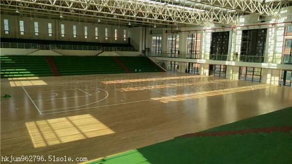 室内篮球场木地板价格