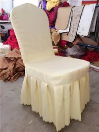 廠家直銷 現貨低價供應酒店婚慶普通彈力椅套 多色可選