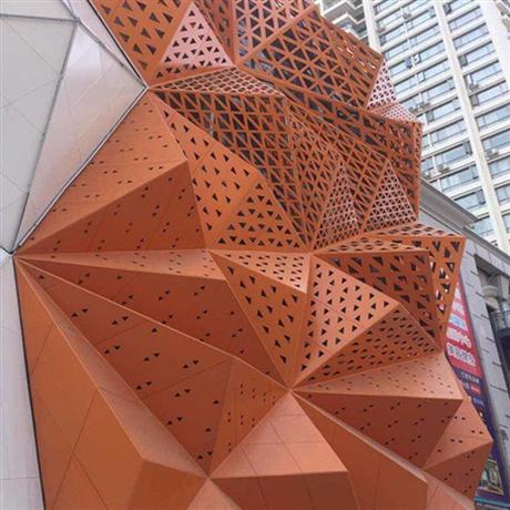 湖南株洲铝单板厂家价格 氟碳铝单板雕花 铝单板外墙