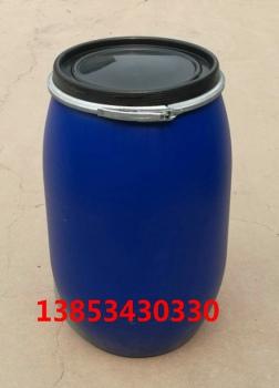 慶云新利125升包箍桶125L開口塑料桶