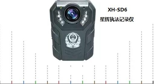 河南交警携星辉执法记录仪XH-SD6